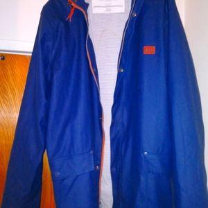 Helly Hansen hoodie raincoat gear jacket Size XXL